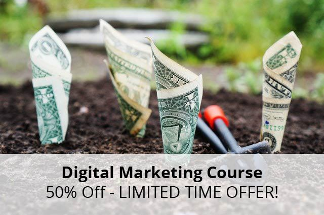 Digital Marketing Course 50% Off – LIMITED TIME OFFER!